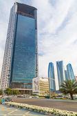Abu Dhabi National Oil Company headquarters — Stock Photo