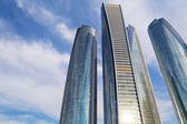 Etihad Towers buildings in Abu Dhabi — Stock Photo