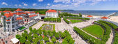 Panorama of Sopot at Baltic Sea in Poland — Stock Photo