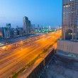 Cars on Sheikh Zayed Road in Dubai — Stock Photo #48639923