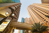 Skyscrapers of Dubai Marina — Stock Photo
