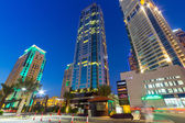 City scenery of Dubai Marina — Stock Photo
