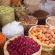 Spices and herbs on the market — Stock Photo #48928223