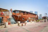 Port Saeed along Deira's shore of Dubai Creek — Stock Photo