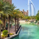 Burj Al Arab hotel in Dubai, UAE — Stock Photo #49303935