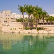 Постер, плакат: Architecture of Madinat Jumeirah resort in Dubai
