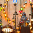 Arab street lanterns in Dubai — Stock Photo #49304221