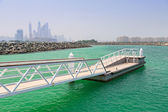 Pier at the Persian Gulf — Stock Photo