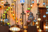 Arab street lanterns in Dubai — Stock Photo