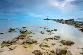 Beautiful beach at Baltic Sea — Stock Photo