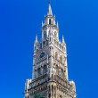 The New Town Hall architecture in Munich — Stock Photo #50165563