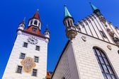The old town hall architecture in Munich — 图库照片