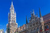The New Town Hall architecture in Munich, Germany — Stock Photo