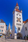 The old town hall architecture in Munich — Stock Photo