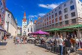People on the streets of Munich, Germany — Stock Photo