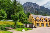 Hohenschwangau village — Stock Photo