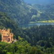Hohenschwangau Castle in the Bavarian Alps — Stock Photo #50458431