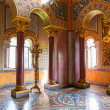Interior of the Neuschwanstein Castle in Germany — Stock Photo #50458959