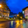 Постер, плакат: Bavarian architecture of Hohenschwangau village Germany