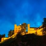 Hohenschwangau Castle in Bavarian Alps — Stock Photo #50459937