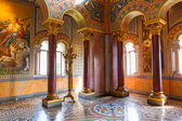 Interior of the Neuschwanstein Castle in Germany — Stock Photo
