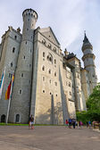 Neuschwanstein Castle in Hohenschwangau, Germany — Foto Stock