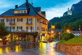 Hotel Muller in Hohenschwangau village — Stock Photo