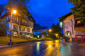 Bavarian architecture of Hohenschwangau village, Germany — 图库照片