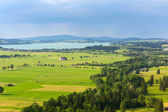 Idyllic summer landscape in Bavaria — Stock Photo