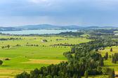 Idyllic summer landscape in Bavaria — Foto de Stock
