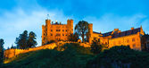 Hohenschwangau Castle in Bavarian Alps — Stock Photo