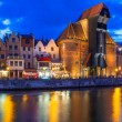 Panorama of Gdansk in Poland — Stock Photo #50460315