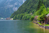 Hallstatter Lake in Alps mountains — Stock Photo