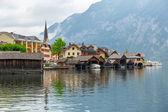 Hallstatt aldea en austria — Foto de Stock