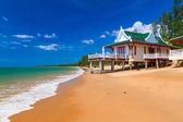 Oriental holidays on the beach — Stock Photo