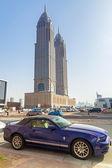 The Al Kazim Towers in Dubai Media City — Stock Photo