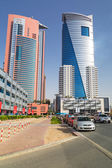 He Grand Midwest Tower Hotel in Dubai, UAE — Stock Photo