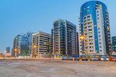 Dubai Internet City at dusk, UAE — Stock Photo