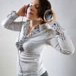 Listening to the music — Stock Photo #5587951