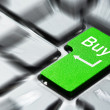 Buy button on the keyboard — Stock Photo #9858131