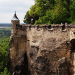 Königstein Fortress — Stock Photo #14084951