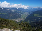 Zillertal near Mayrhofen — Stock Photo