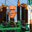 High voltage transformer — Stock Photo