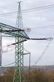 Electric pylon — Stock Photo