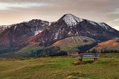 Visión romántica de los alpes austríacos, salzburger land, austria — Foto de Stock