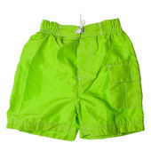 Bathing shorts on a white background. — Stock Photo
