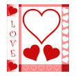 Valentines Day card — Stock Vector #8760559