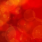 Red bokeh — Foto Stock