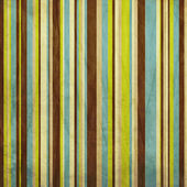 Vintage brown, blue and green grunge colored striped background — Stock Photo