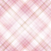 Shabby textile plaid Background with colorful pink and white str — Stock Photo